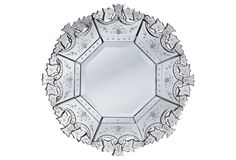Aversa Wall Mirror, Clear