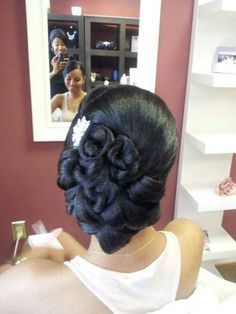 Wedding Hairstyles for Black Women                              …