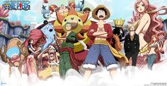 Anime One Piece  Pappug (One Piece) Shirahoshi (One Piece) Nami (One Piece) Sanji (One Piece) Brook (One Piece) Monkey D. Luffy Zoro Roronoa Sunny (One Piece) Franky (One Piece) Jinbe (One Piece) Usopp (One Piece) Nico Robin Tony Tony Chopper Papel de Parede