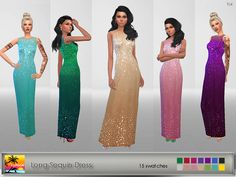 - 15 swatches - base game compatible - maxis match - real in game shine - formal, party - teen to elder - stand alone set Hope you'l...