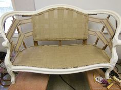 How to add webbing to furniture