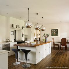 Wondering whether we can get our new kitchen diner looking anything like this!!