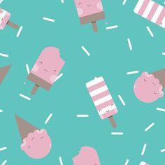 Vi piace la mia grafica a base di gelati? Le mani di @babylabhandmade l'hanno tradotta in meraviglie di stoffa 😍