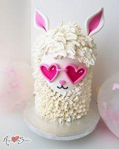 # Cake # Llama - Cake - # Cake # Llama - # Cake – Cake – Informations About # Kuchen – Kuchen – # - Baby Cakes, Kid Cakes, Pretty Cakes, Cute Cakes, Novelty Cakes, Love Cake, Creative Cakes, Cake Creations, Celebration Cakes