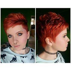 Deze 12 korte kapsels moet je gezien hebben als jij van rood haar houd! - Kapsels voor haar