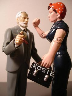 Postmodern Dialogues - Round One: Freudian psychoanalysis versus socialist/anarcha-feminism by holoubek, via Flickr