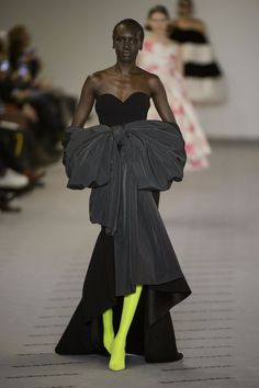 Warning: Balenciaga's New Couture Gowns Are Heavy Duty