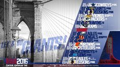 Schedule wallpaper for the New York Giants Regular Season, 2016. All times CET…