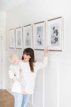 """Home Tour Series: Master Bedroom - - Co-host of HGTV Canada's """"Love It or List It Vancouver"""" & Former Bachelorette, Jillian Harris, shares details of her master bedroom in her Home Tour Series. Picture Frame Wainscoting, Wainscoting Height, Wainscoting Nursery, Wainscoting Kitchen, Painted Wainscoting, Dining Room Wainscoting, Wainscoting Ideas, Black Wainscoting, Wainscoting Panels"""