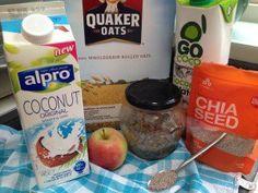 Susan Hart: Overnight Oats – 202 Calories