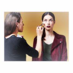 Behind The Scenes, Pearl Earrings, Makeup, Fashion, Pearl Studs, Make Up, Moda, La Mode, Fasion