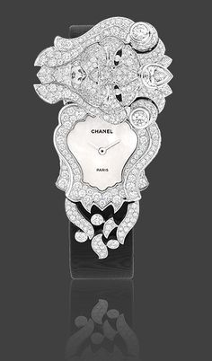 Chanel Timepiece ~ in 18K white gold and diamonds