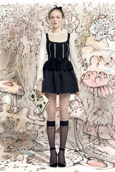 Red Valentino RTW Fall 2013 - Slideshow - Runway, Fashion Week, Reviews and Slideshows - WWD.com