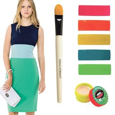 Color blocking adds loads of style and versatility to this simply shaped Isaac Mizrahi dress, $29.99 at Target.