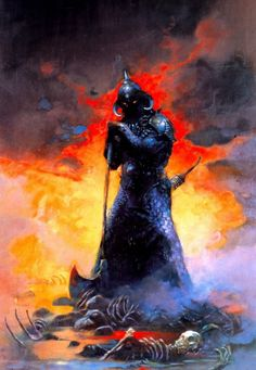 Old School FRP - rebel6:   by  Frank Frazetta      Death Dealer