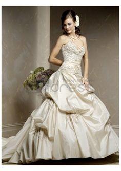 Vestidos de novia 2012 de escote palabra de honor