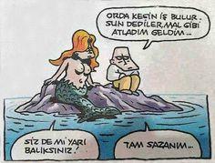 Özer Aydoğan; Tam sazan! http://karikaturdunyasi.com/