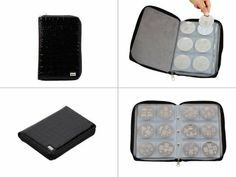 Amazon.com : Bundle Monster Nail Stamp Stamping Plate Zippered Synthetic Leather Case Plates Holder Organizer : Makeup Travel Cases And Hold...