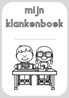 kleurplaten klanken 26 Letters, Pre Writing, Kids Education, Spelling, Worksheets, Homeschool, Comics, Logo, Store