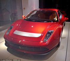 Eric Clapton's latest indulgence, a bespoke Ferrari rumoured to have cost the star a whopping £3million