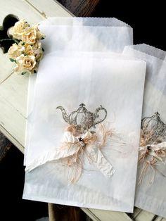Tea Pot Glassine Bags