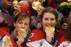Gold Metal Women's Hockey Vancouver the. Women's Hockey, Hockey Girls, Olympic Committee, Olympic Team, I Am Canadian, Canada, Olympians, Sports Equipment, British Columbia
