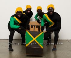Cool Runnings Group Halloween Costume... 2014 Halloween Costume Contest