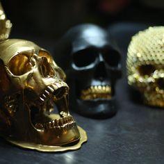 /// Skulls Bling #Skull #Gold #Black