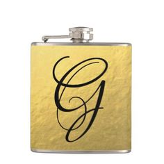 #Gold | Flask - #sophisticated #gifts #giftideas #custom