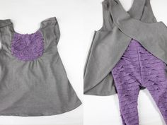 Girls Ruffle Pinafore free pattern