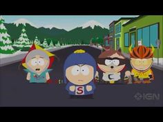 15 Minutes of South Park: Fractured But Whole Gameplay - Gamescom 2016 - YouTube