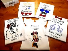 Handmade by Do : Hand painted wedding T-shirts/ Tricouri nuntă pict. July 11, October 15, On October 3rd, Painted Cups, Hand Painted, Greek Pattern, Ceramic Angels, Flower Stands, Coffee Set
