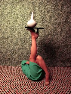 Isabelle Wenzel, Objectification, With Céline Shoes And Vase, 2013