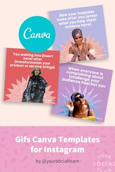 Grow your Instagram and sales with our relatable and eye catching gifs guide. Selling On Instagram, Make Your Own, Templates, Canvas, Words, Memes, Ministry, Blog, Gifs