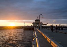 Long time no post so I thought I'd share this sunset from St kilda pier as it reminds me of the cooler weather that's starting to set in.  I took this photo the afternoon I flew down from the Gold Coast. I dropped my bags off and headed down to the pier wearing shorts t-shirt and thongs. St kilda was cold windy place that evening and I didn't even have a jacket back with my stuff so I just waited and shivered as the sun went down. Worth it for the final few shots I got. . . #travel #travler… St Kilda, Thongs, Gold Coast, Cn Tower, My Photos, Saints, Weather, Cold, Sunset