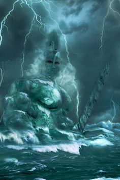 Poseidon by ~Baddog2k7 on deviantART