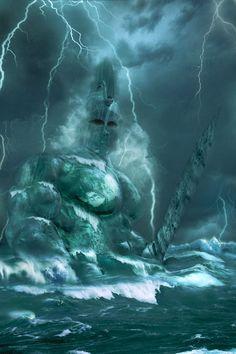 Poseidon by ~Baddog2k7 on deviantART