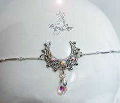 Sailor Moon Crystal inspired circlet silver by FairyCaveShop
