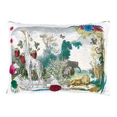 Christian Lacroix Wild Nature Papaye Cushion