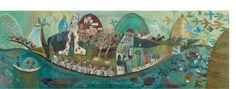 Djeco Puzzle gigant poetycki statek 350 Sklep