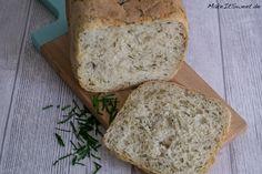 Schnittlauch Sesam Brot aus dem Brotbackautomat BBA Rezept Kastenform einfach schnell
