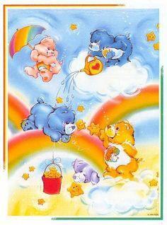 Care Bears: Environmental Cheer, Grumpy, Bedtime, Friend and Share Bear
