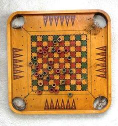 `CARROM CHECKER Pinned by heywardhouse.org