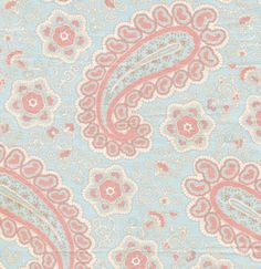 Love this fabric for a nursery