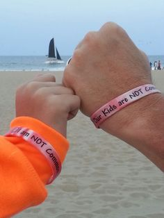 Wearing ours at the beach