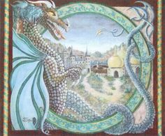 Celtic Dragon Lands - Cross Stitch Pattern