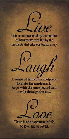 "live laugh love quotes | Live Laugh Love Gold Primitive Framed Quote 10x16"" [GP1502]"
