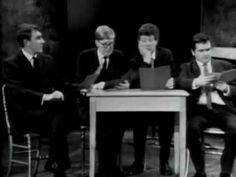 Beyond the Fringe (Complete) - YouTube.  Two hours of classic British comedy.