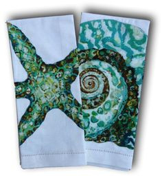 Starfish and Turban Towel Set | Coastal Style Gifts