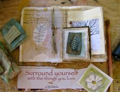 Surrounding yourself with the things you love… roxanne evans stout